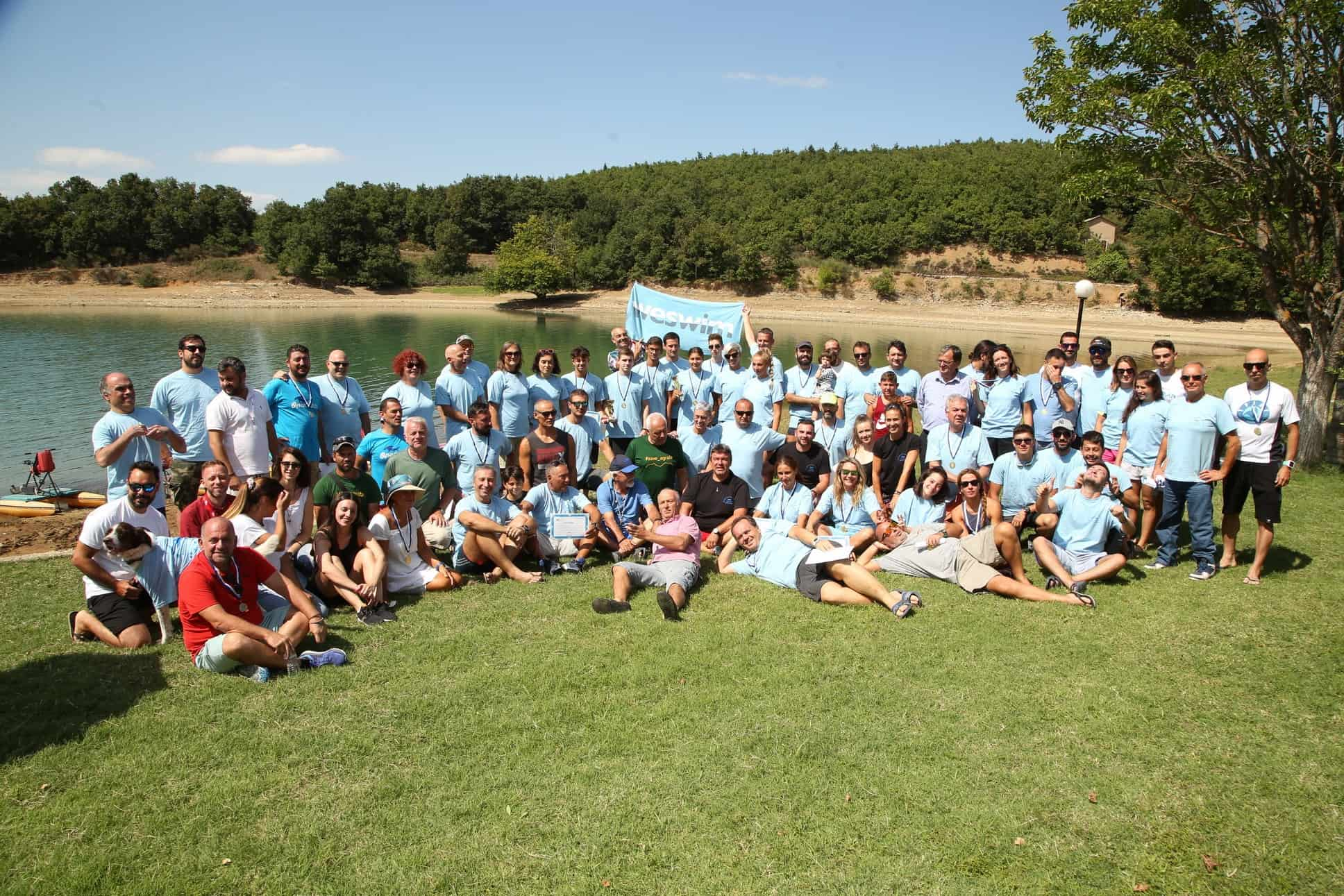 Weswim Unspoiled Λίμνη Πλαστήρα 1&2 Αυγούστου
